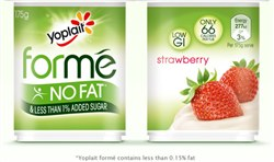 Yoplait Forme Satisfy